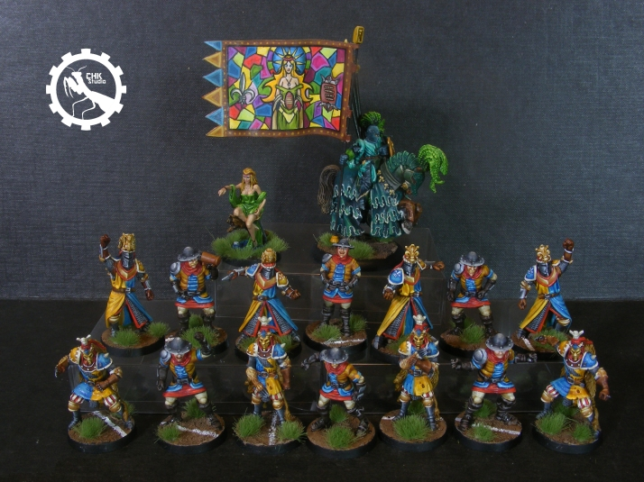 Bloodbowl Bretonian team