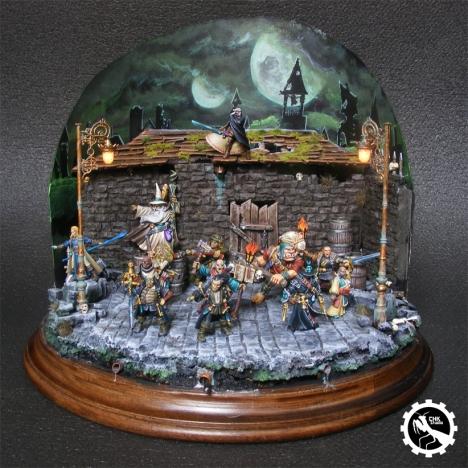Diorama con Luz