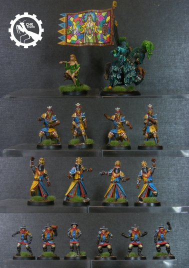 Bloodbowl Bretonian team 2