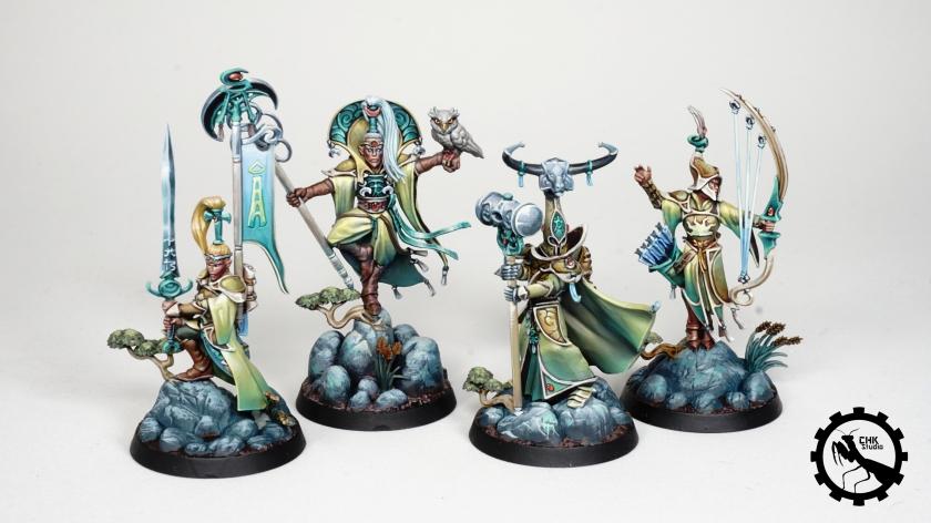 Myari's Purifiers warhammer